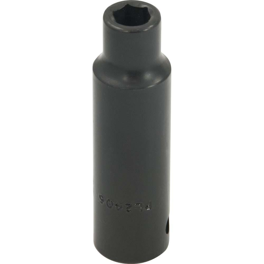 Gray Tools 13//16-Inch X 1//2-Inch Drive Black Impact Socket 6 Point Deep Length